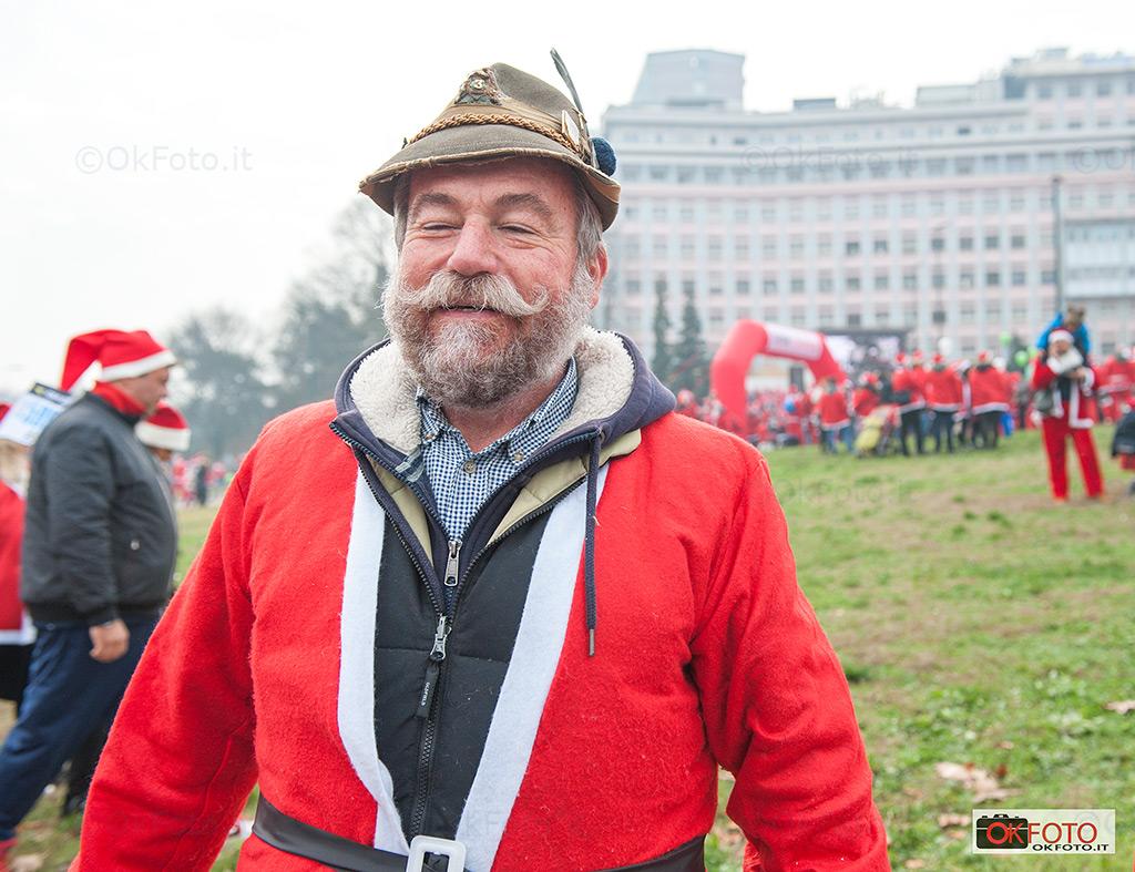 Alpini sempre presenti a Babbo Natale in Forma davanti al Regina Margherita