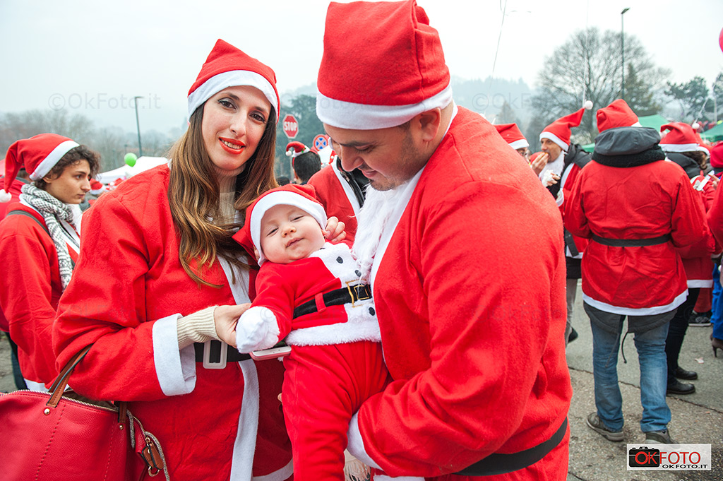 Il più piccolo partecipante a Babbo Natale in Forma
