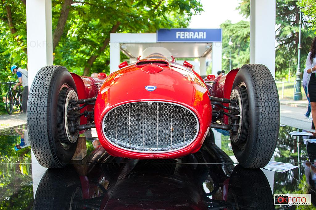 Lancia D50 al Gran premio Parco valentino