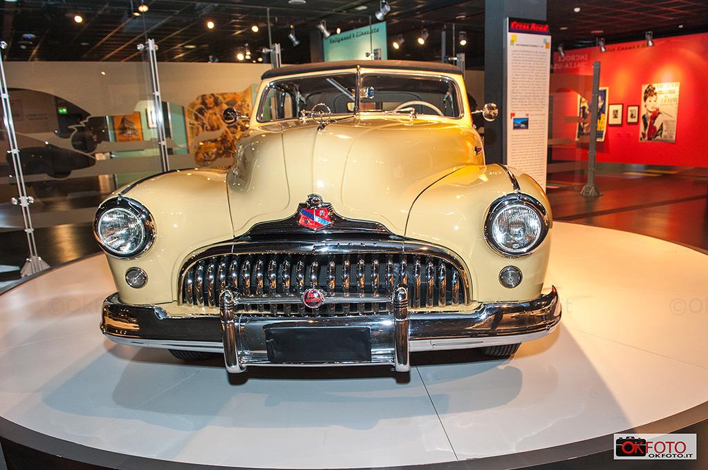 Il Museo del'auto ospita la mostra Incroci Italia-Usa