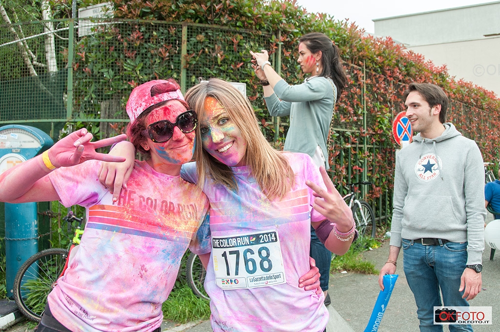 sorrisi a the color run Torino 2017