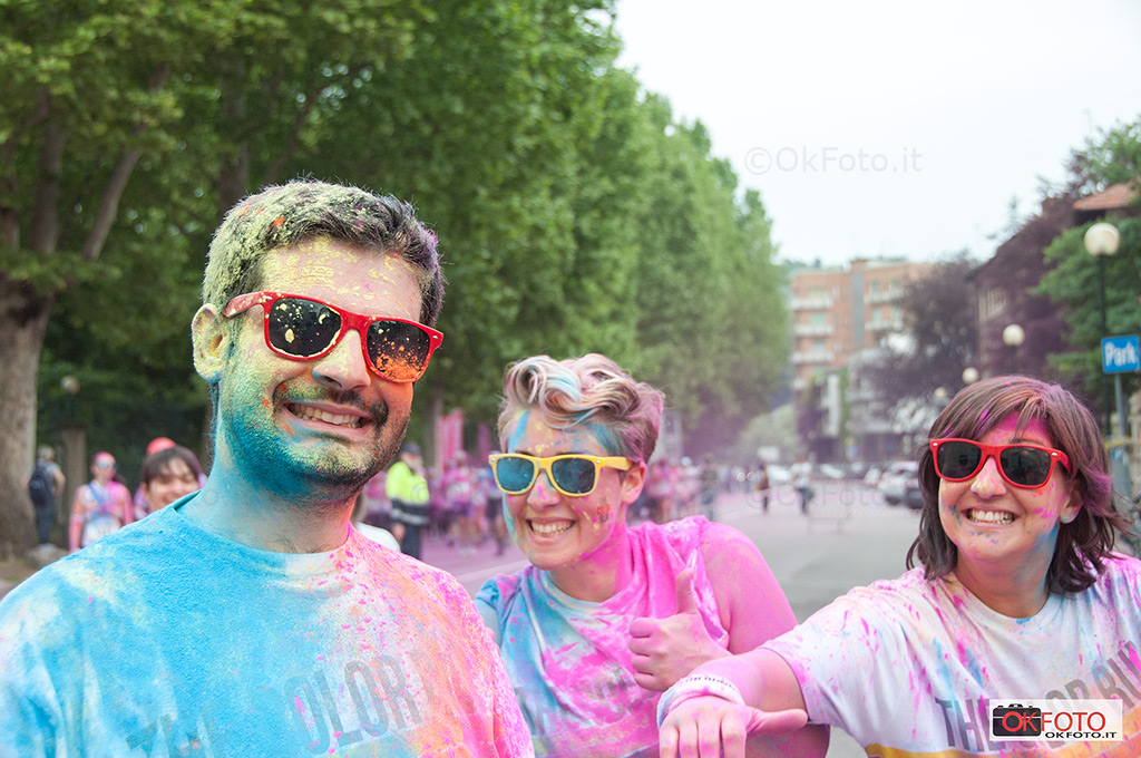 the color run a Torino