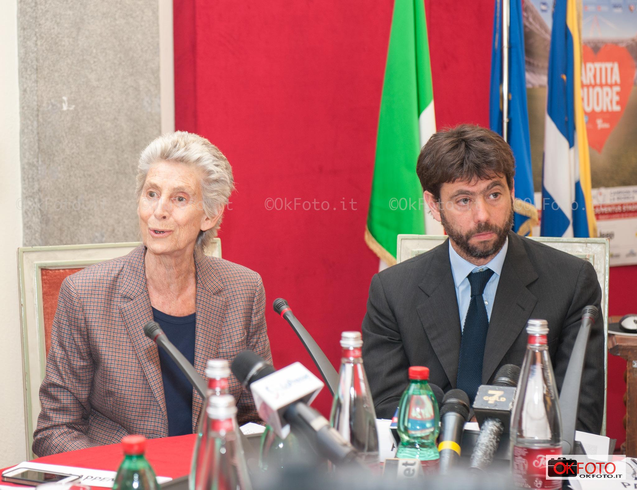 Allegra e Andrea Agnelli