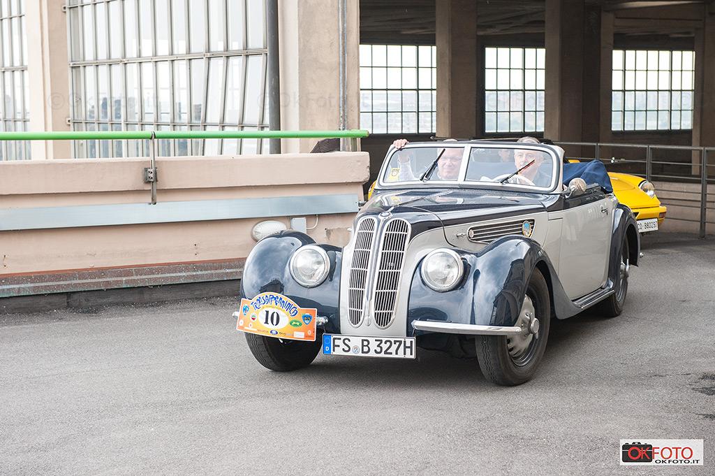 BMW presente alla Transappenninica 2017