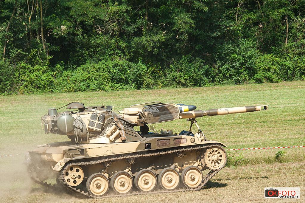 Anche carri armati in movimento al raduno di Ternavasso
