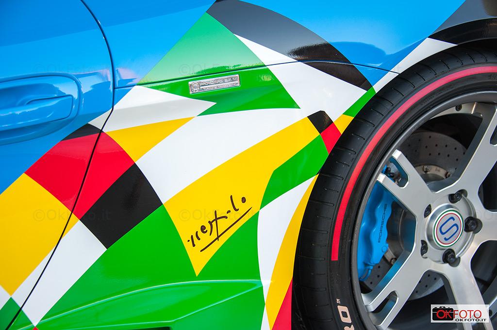 Car art, Ugo Nespolo e la Porsche Moncenisio