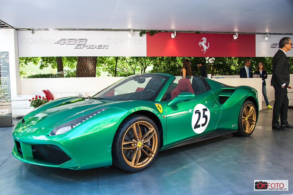 Ferrari 488 spider edizione speciale