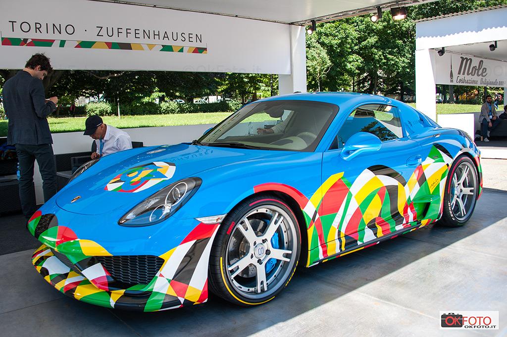 Alfredo Stola e la Porsche Moncenisio