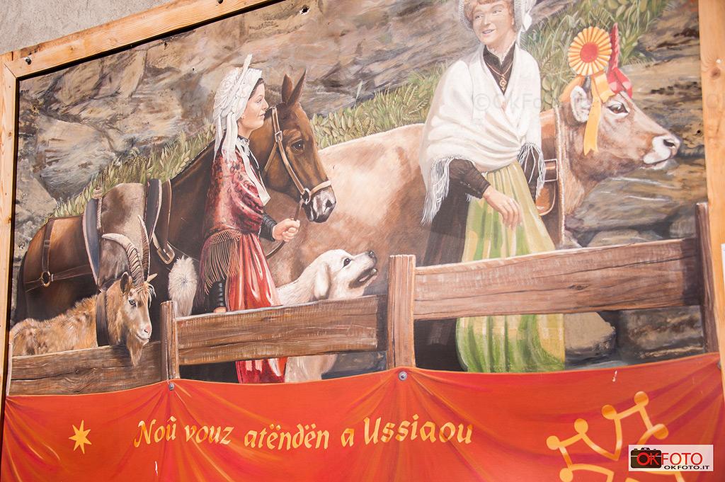 I costumi della tradizione a Balboutet, frazione di Usseaux
