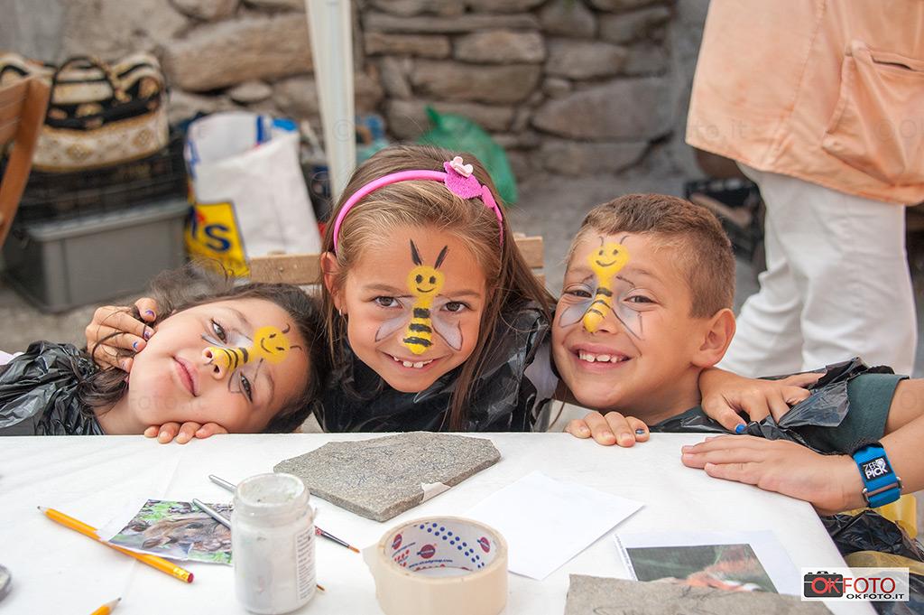 Balboutet: i bambini felici in occasione della fiera