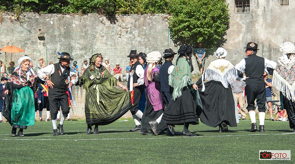 Balli tradizionali in costume a Fenestrelle