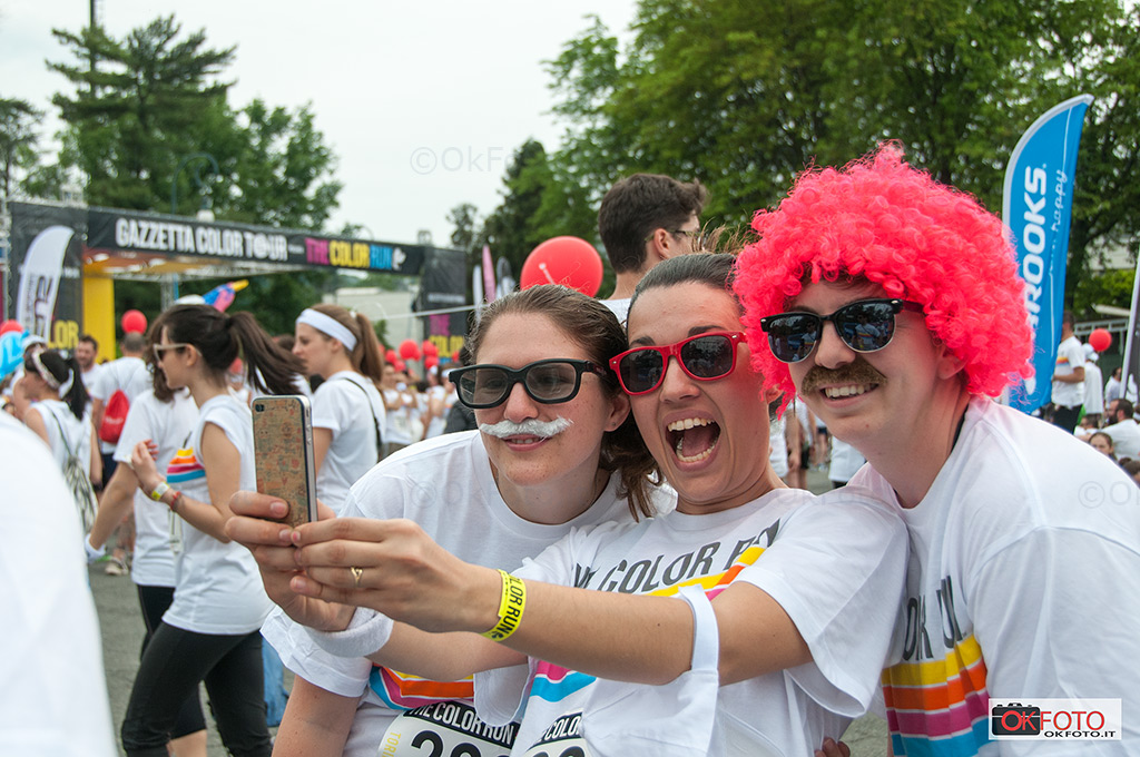 Torino ospita The color run