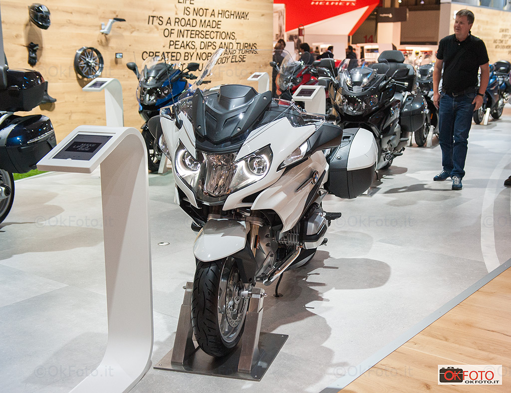 BMW 1200 Rt a Eicma 2017