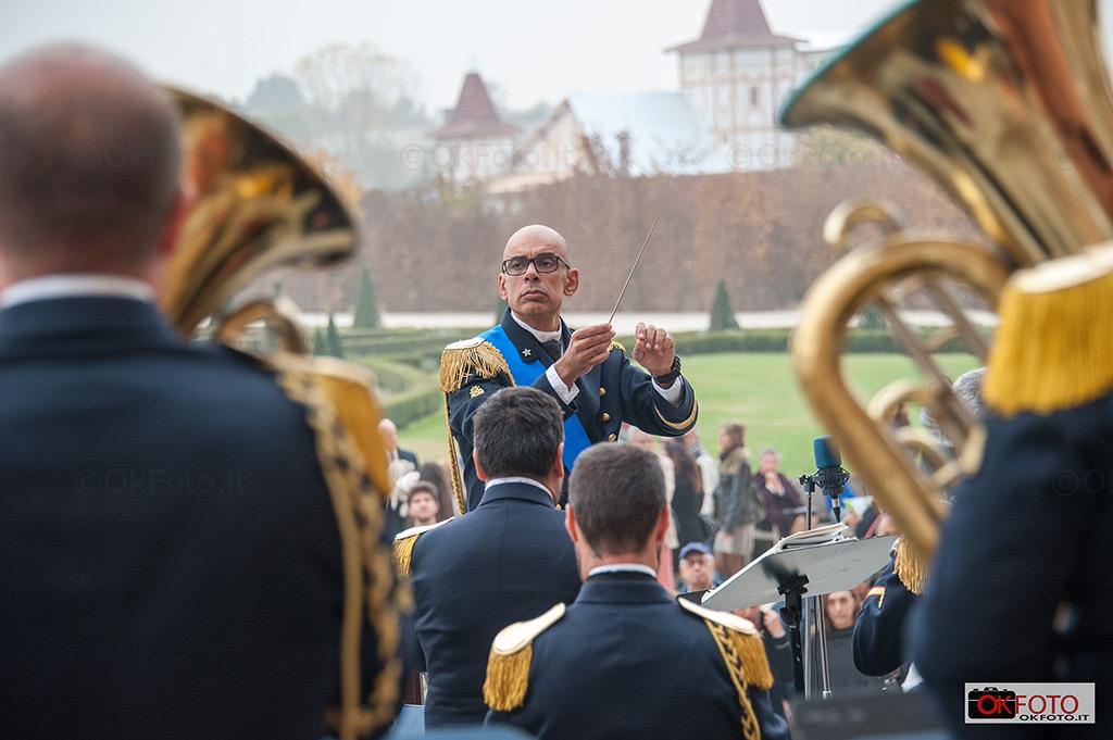Il Maestro Barbagallo dirige la Banda musicale della Marina Militare
