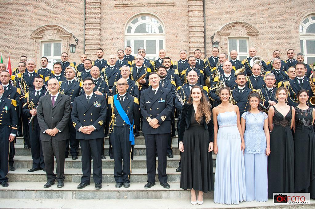 Concerto della Banda musicale della Marina Militare per il Gran Ballo delle debuttanti