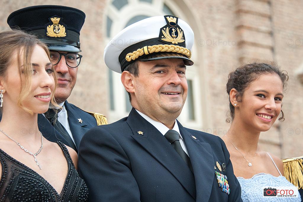 Il contrammiraglio Fabio Agostini