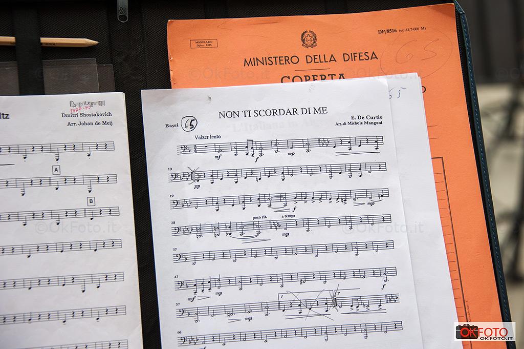 La Banda musicale della Marina Militare alla reggia di Venaria