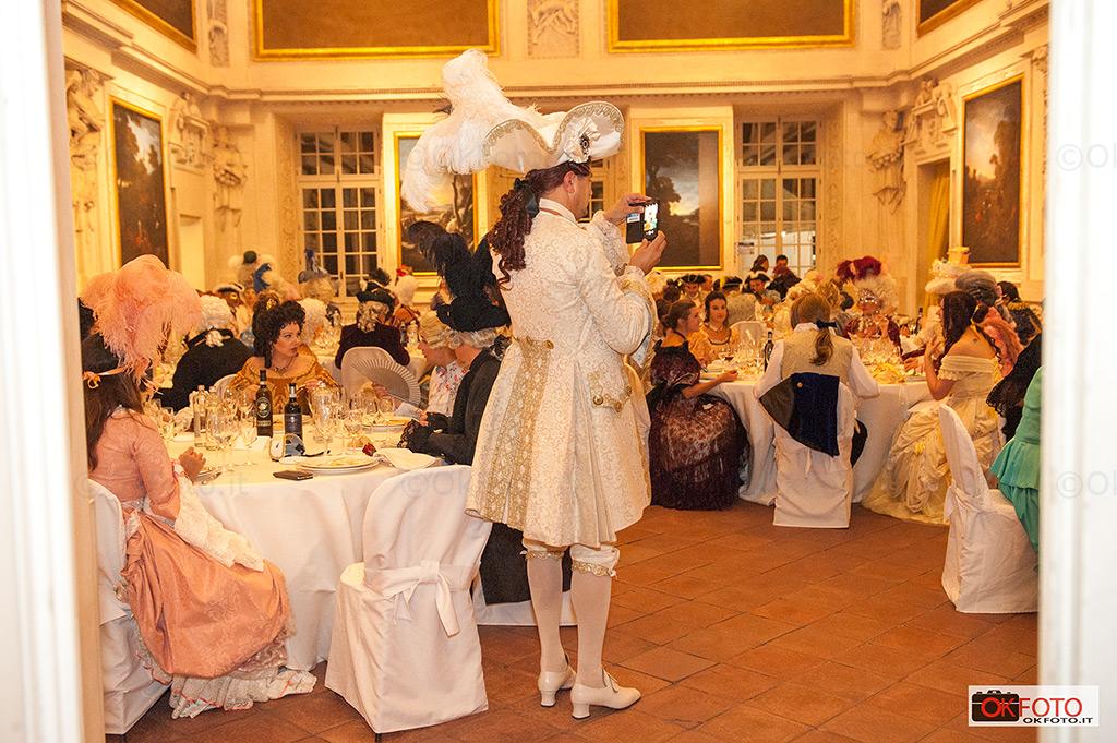 La cena di gala della Nuit royale