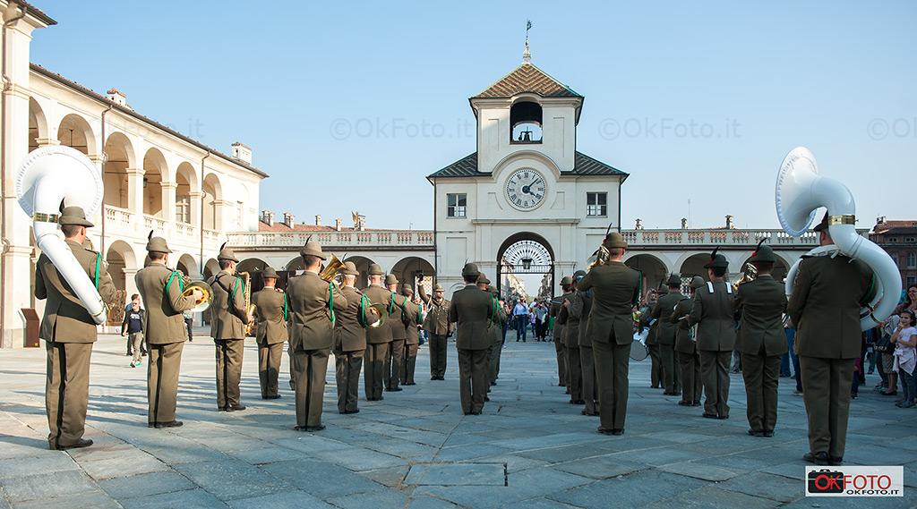 Fanfara della Brigata alpina Taurinense alla Reggia di Venaria