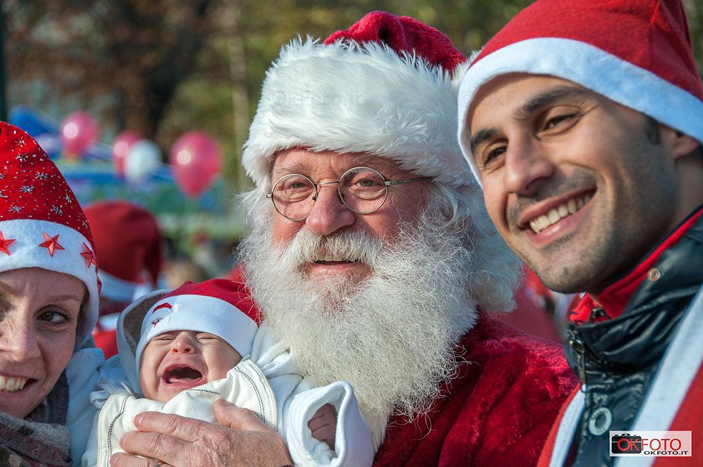 Babbo Natale in Forma per l'ospedale Regina Margherita