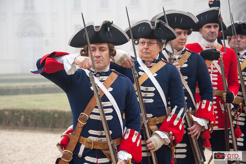 Le Gardes Françaises alla Palazzina di caccia di Stupinigi