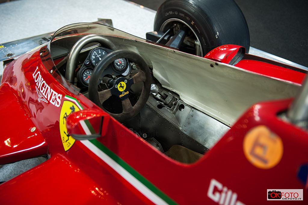la Ferrari di Gilles Villeneuve a Milano AutoClassica