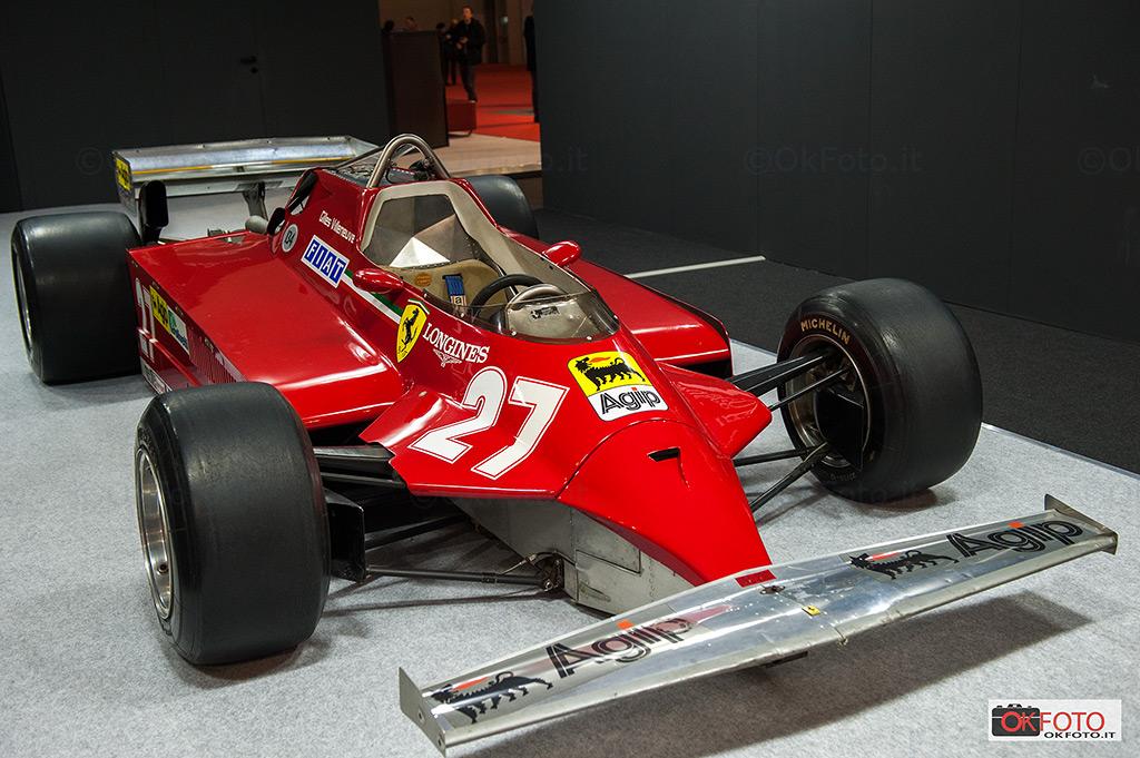 Il numero 27 sulla Ferrari di Gilles Villeneuve a Milano AutoClassica