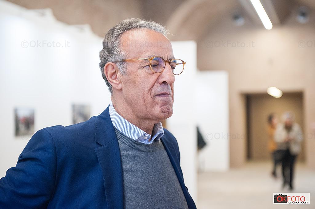 Burhan Ozbilici a Torino in occasione della mostra Exhibition al Mastio della Cittadella