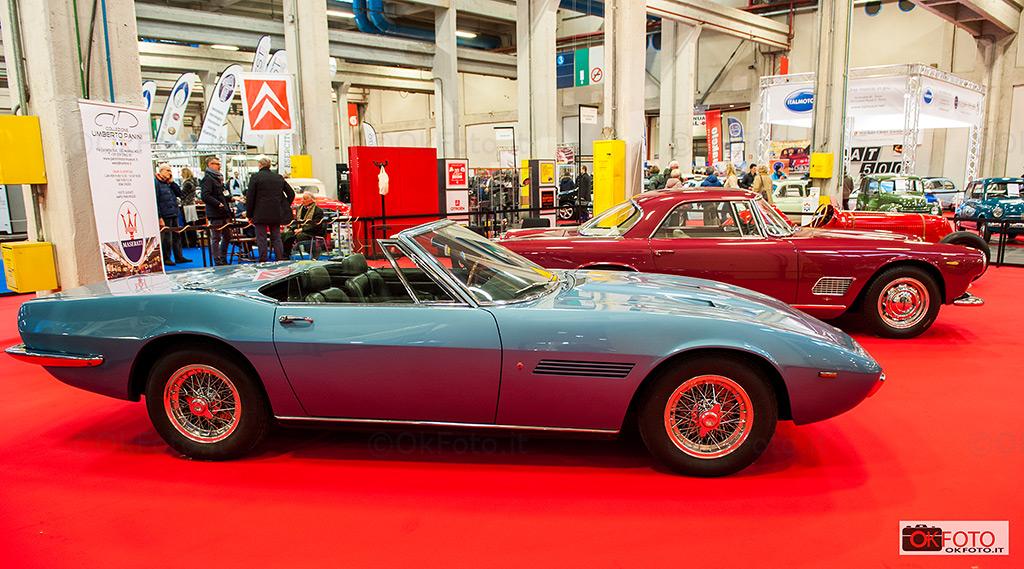 Lo stand Maserati a Automotoretrò