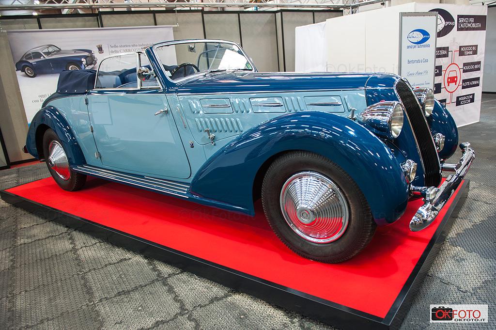 Lancia, un marchio amato dagli appassionati di vetture d'epoca a Automotoretrò