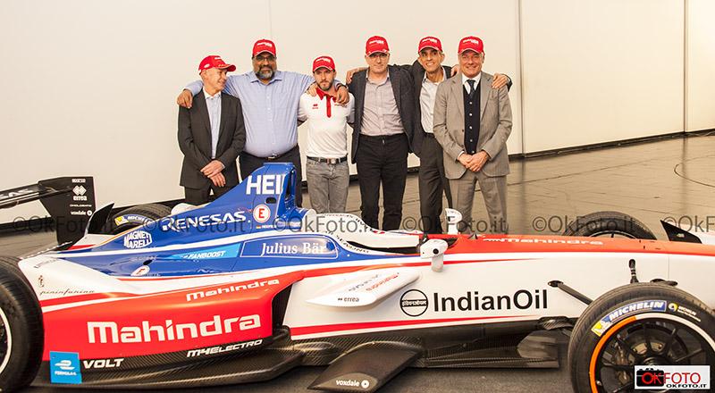 I protagonisti dell'accordo tra Mahindra Racing e Pininfarina