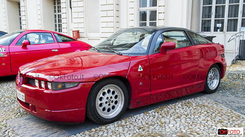 fca heritage espone alfa romeo sz al Salon retromobile