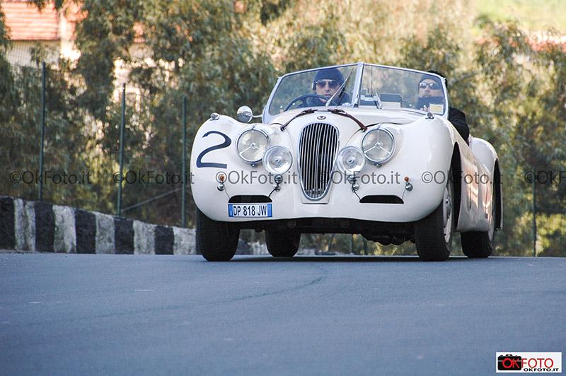 Jaguar Xk alla Coppa Milano-Sanremo sul circuito di Ospedaletti