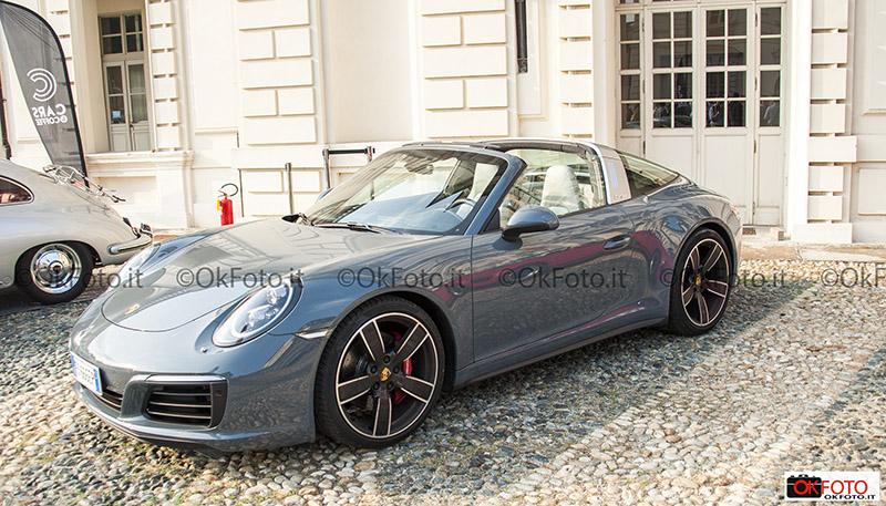 Porsche Targa al raduno Cars and coffee Torino