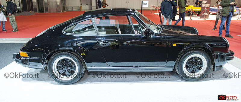 Porsche 911 esposta a Milano AutoClassica