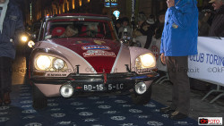Citroën Ds vincitrice al rally di Monte-Carlo
