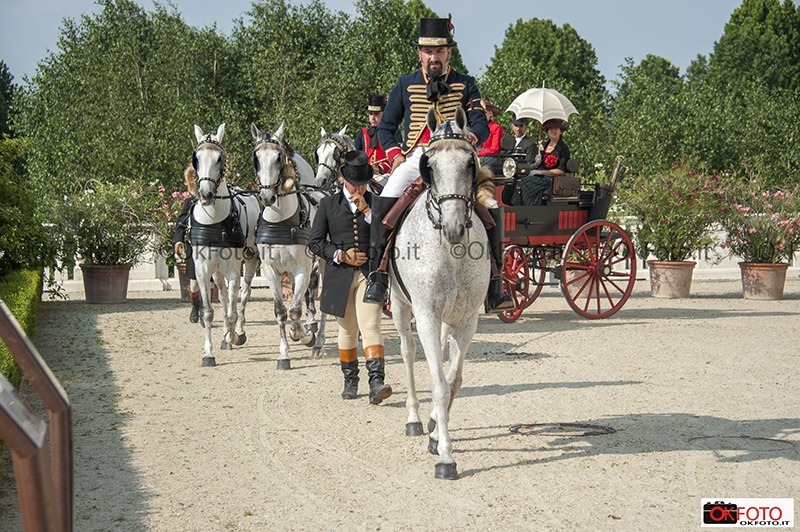 Attacco alla Daumont sfila alla Reggia di Venaria