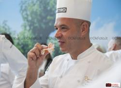 Il presidente della giuria degli chef, Jerome Bocuse