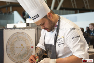Chef impegnato al Bocuse