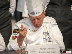 Martin Chiffers, presidente d'onore a Torino per la Coupe du Monde de la Pâtisserie