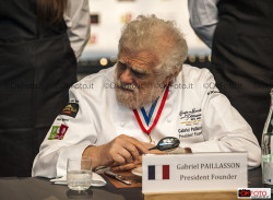 Gabriel Paillasson, President Fonder a Torino per la Coupe du Monde de la Pâtisserie