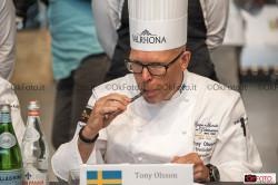 Tony Olsson, componente della Giuria internazionale alla Coupe du Monde de la Pâtisserie