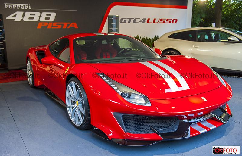 Lo stand Ferrari al Salone Auto Torino