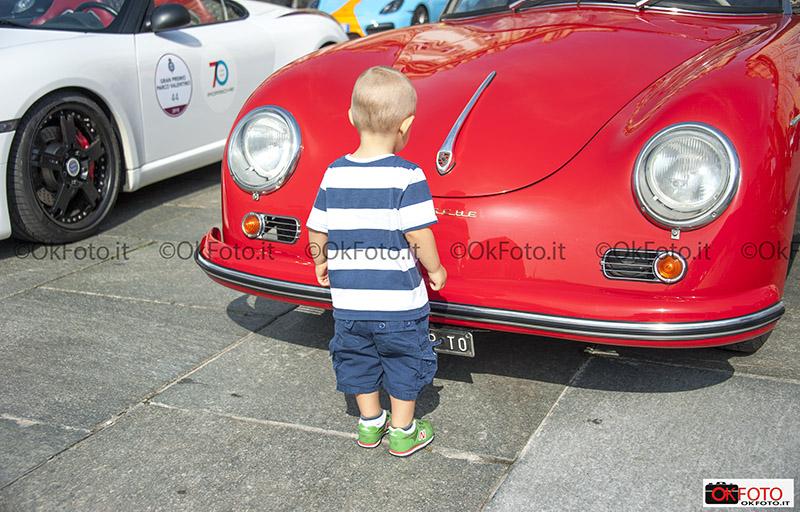 Raduno Porsche per i 70 anni del marchio al Salone Auto Torino