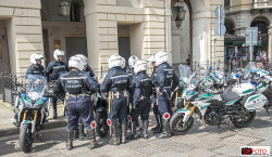 Polizia Municipale di Torino al Salone Auto Torino