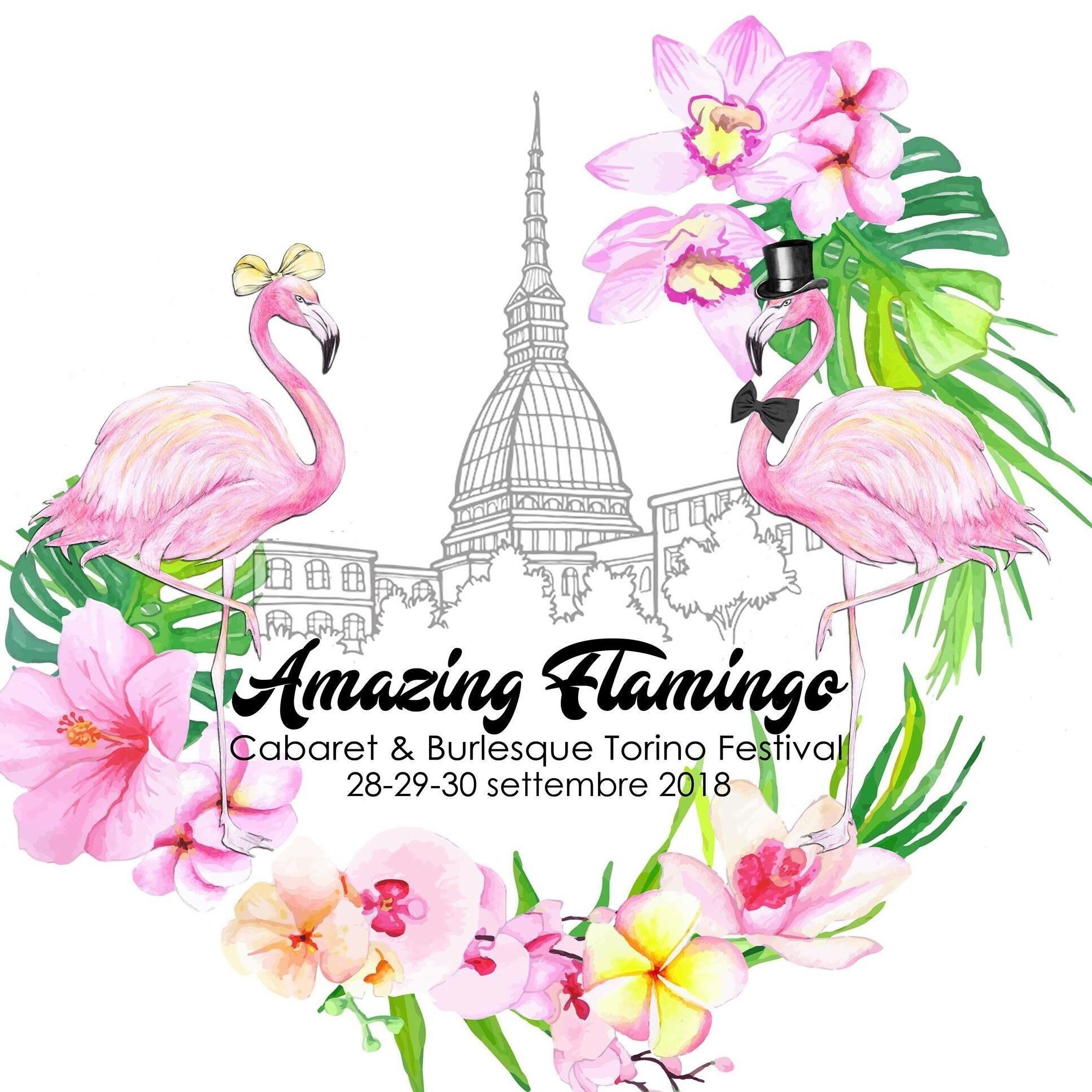 Tutto pronto per Amazing Flamingo Cabaret  Burlesque Torino Festival