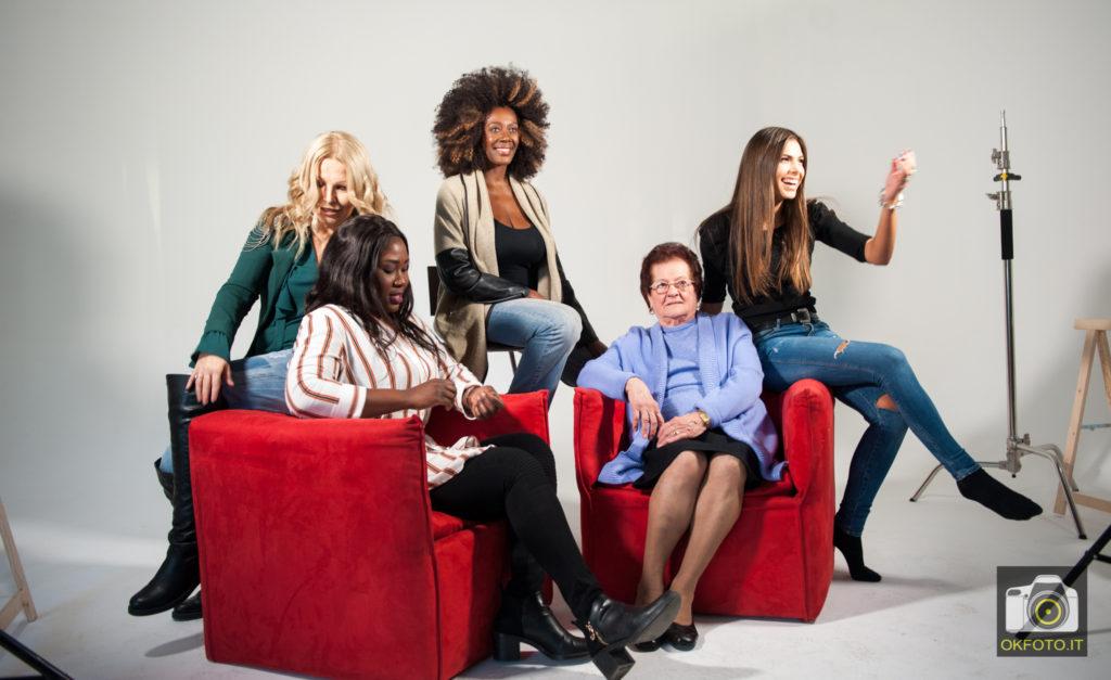 Le donne protagoniste del promo T'insegno a lasciarmi
