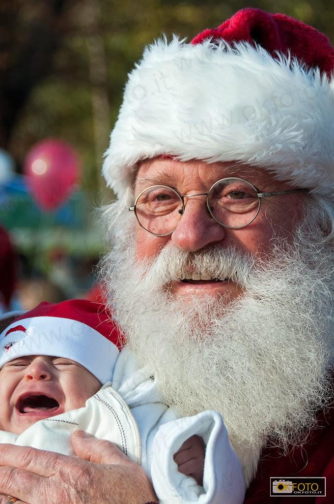 Babbo Natale in Forma: il grande raduno davanti all'Ospedale infantile Regina Margherita