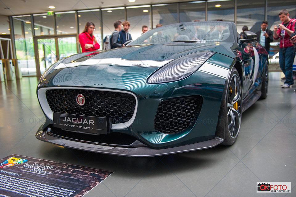 Il DNA della Jaguar F-type Project 7